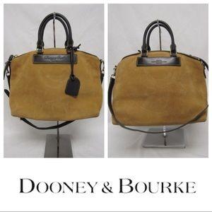 Dooney & Bourke Suede Florentine Vachetta Lg Tote